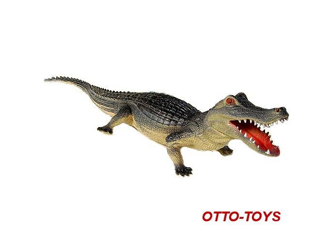 Gumový krokodýl