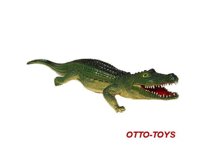 velký gumový krokodýl