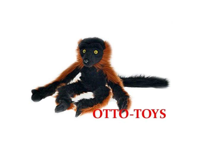 Plyšový lemur vari