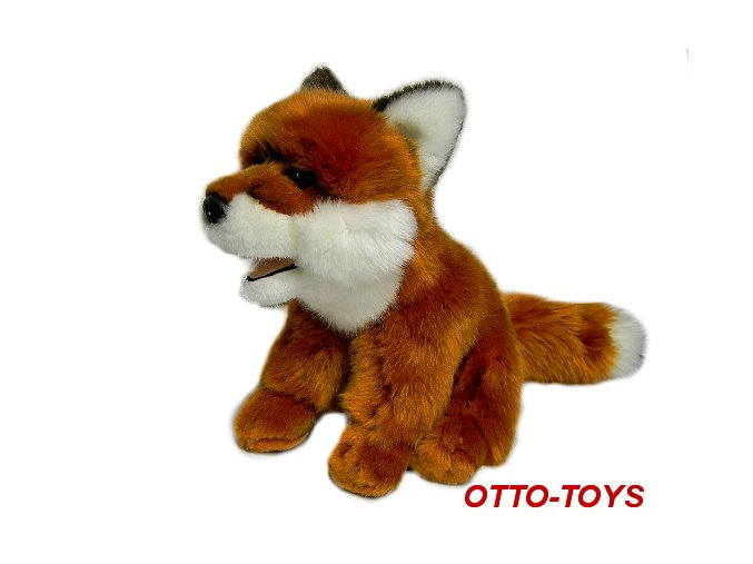 Plyšová hračka liška
