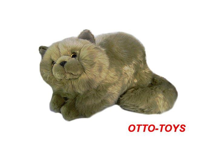 Velká plyšová kočička