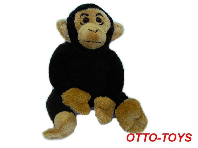 malý levný plyšový šimpanz