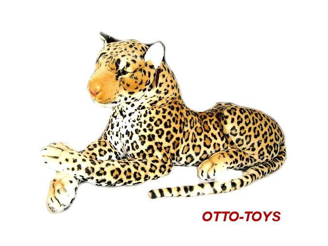 Velký plyšový leopard