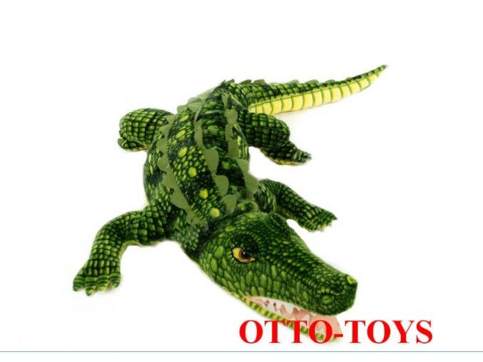Obrovský plyšový krokodýl 170cm Atestované hračky