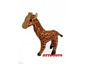 malá levná plyšová žirafa