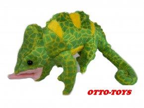 Plyšový chameleon