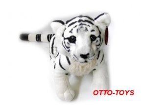 Plyšový tygr bílý