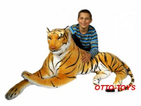 Obrovský velký plyšový tygr