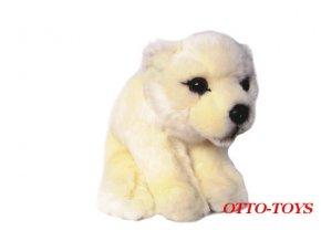 malý plyšový lední medvěd