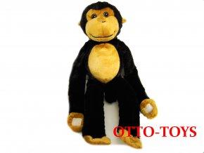 velká plyšová opička ruce na suchý zip