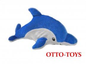 Velký plyšový delfín 36cm