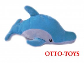 Velký plyšák delfín 36cm