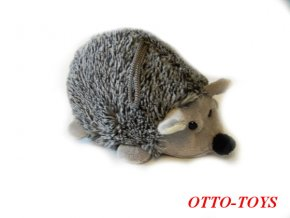 malý levný plyšový ježek