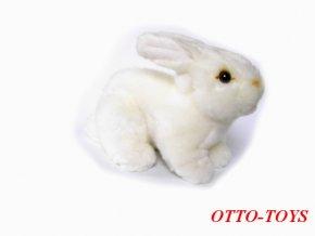 Plyšový králíček bílý