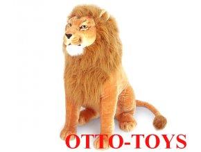 hračka malý plyšový lev