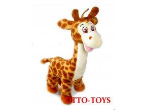 Levná velká plyšová žirafa