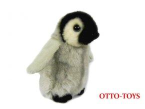 malý plyšový tučňák
