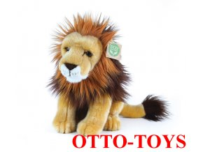 plyšový lev malý velké oči