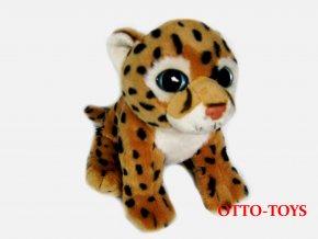 Leopard plyšový