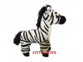 Hračka plyšová zebra