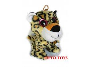 Plyšový leopard 18cm
