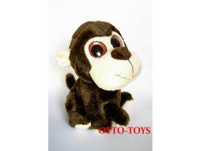 Hračka plyšová opička velké oči