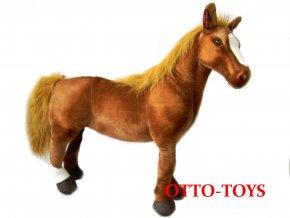 Velký plyšový kůň