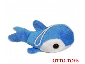 Hračka plyšový delfín 16cm