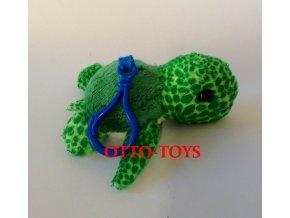 malá levná plyšová želva přívěšek