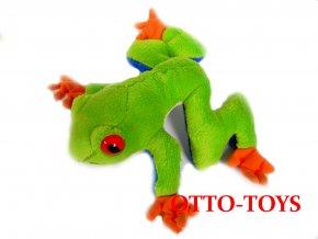 Malá plyšové žába