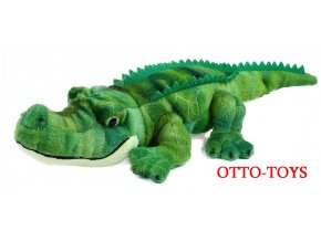 Levný plyšový krokodýl