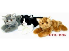 Plyšové kočičky