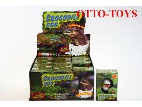 Líhnoucí krokodýlí vajíčko