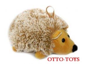 velký plyšový ježek