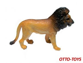 Gumový lev 10cm