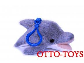 Malý levný plyšový delfín