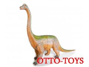 Hračka gumový Brontosaurus z tvrdé gumy