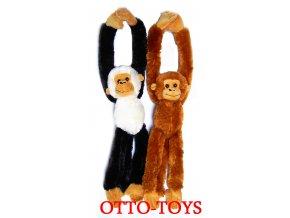 Plyšové opice packy na suchý zip