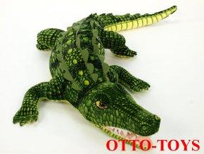 Obrovský plyšový krokodýl