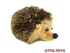 malý plyšový ježek