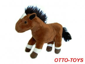 malý levný plyšový kůň