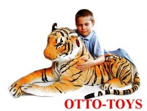 Plyšový tygr maxi velký