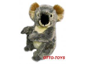 Velká plyšová koala