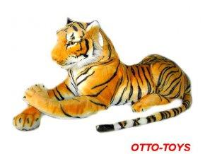 Plyšový tygr velký ležící