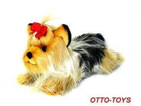 5c50a78aac1 Plyšový pes jorkšír - Atestované hračky