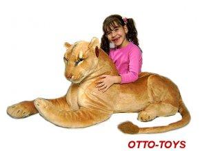 Velká plyšová lvice 180cm