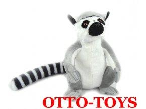 Plyšový lemur ležící