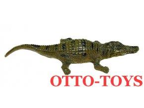 Malý gumový krokodýl