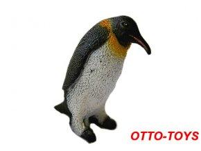 Gumový tučňák 7cm