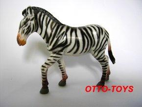 Gumová zebra 9cm